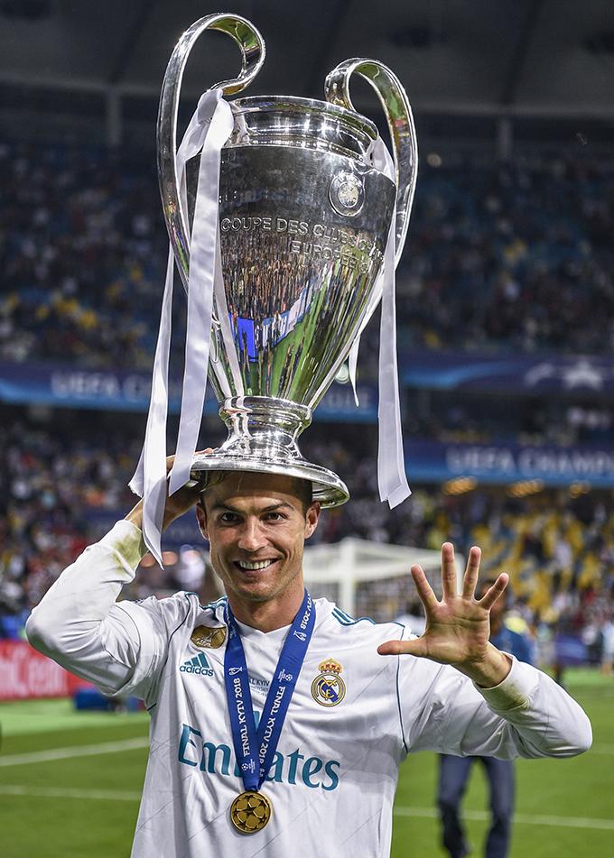 Real Madrid vs Liverpool Final Champions 2018 Kiev Cristiano Ronaldo  Foto Gestifute Media/ Jorge Monteiro