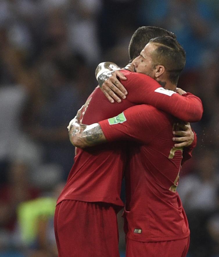 Sochi, 15/06/2018 - A Selecção Nacional de Portugal defrontou, hoje, a Espanha em jogo do Grupo B na fase final do Mundial Russia 2018.  Cristiano Ronaldo Foto Gestifute Media/Jorge Monteiro
